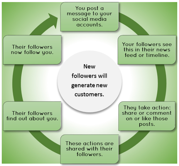 social media virtuous cycle